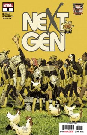 AGE OF X-MAN NEXTGEN #5