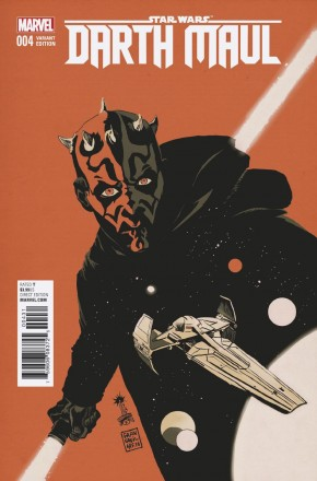 STAR WARS DARTH MAUL #4 FRANCAVILLA 1 IN 25 INCENTIVE VARIANT COVER