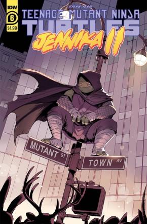 TEENAGE MUTANT NINJA TURTLES JENNIKA II #6
