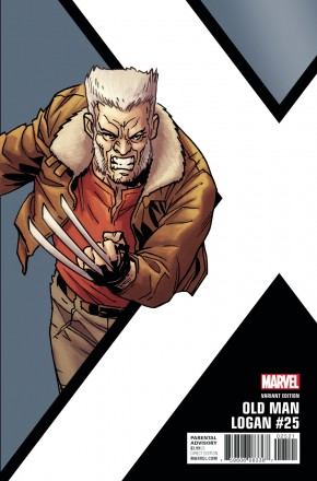 OLD MAN LOGAN #25 (2016 SERIES) KIRK CORNER BOX 1 IN 10 INCENTIVE VARIANT COVER