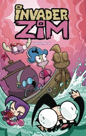 INVADER ZIM VOLUME 4 GRAPHIC NOVEL