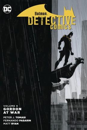 BATMAN DETECTIVE COMICS VOLUME 9 GORDON AT WAR GRAPHIC NOVEL