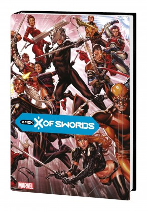 X OF SWORDS BROOKS DM VARIANT HARDCOVER