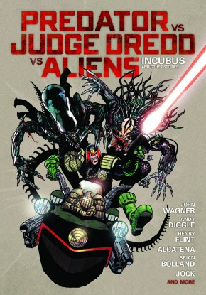 PREDATOR VS JUDGE DREDD VS ALIENS HARDCOVER