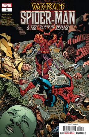 WAR OF THE REALMS SPIDER-MAN & LEAGUE OF REALMS #3