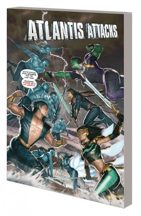 ATLANTIS ATTACKS GRAPHIC NOVEL