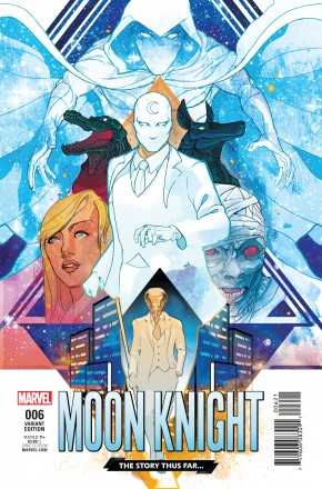 MOON KNIGHT VOLUME 8 #6 WARD STORY THUS FAR VAR VARIANT COVER
