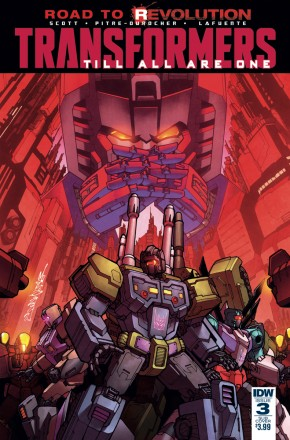 TRANSFORMERS TILL ALL ARE ONE #3 SUBSCRIPTION VARIANT COVER