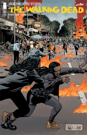 WALKING DEAD #183 COVER A