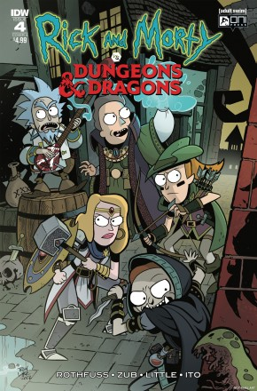 RICK & MORTY VS DUNGEONS & DRAGONS #4