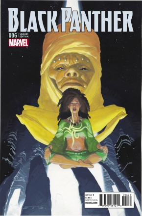 BLACK PANTHER VOLUME 6 #6 RIBIC CONNECTING B VARIANT COVER