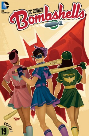 DC COMICS BOMBSHELLS #19