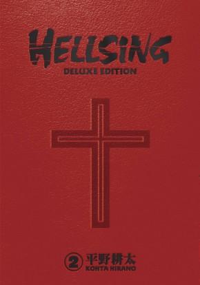 HELLSING DELUXE EDITION VOLUME 2 HARDCOVER