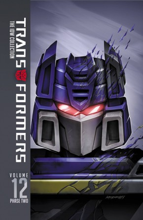 TRANSFORMERS IDW COLLECTION PHASE TWO VOLUME 12 HARDCOVER