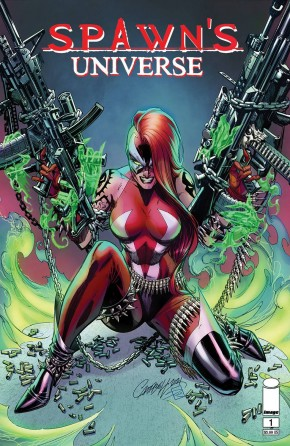 SPAWN UNIVERSE #1 COVER A CAMPBELL