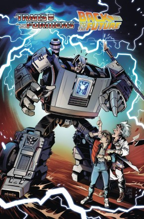 TRANSFORMERS BACK TO THE FUTURE GRAPHIC NOVEL