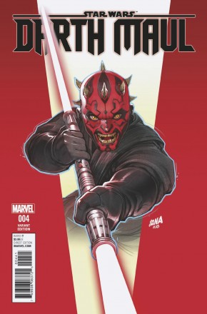 STAR WARS DARTH MAUL #4 NAKAYAMA 1 IN 25 INCENTIVE VARIANT COVER