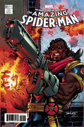 AMAZING SPIDER-MAN #30 (2015 SERIES) X-MEN CARD VARIANT
