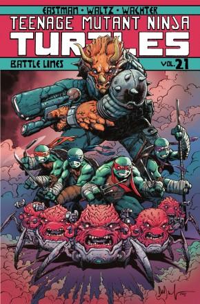 TEENAGE MUTANT NINJA TURTLES VOLUME 21 BATTLE LINES GRAPHIC NOVEL