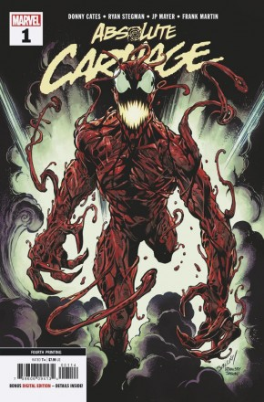 ABSOLUTE CARNAGE #1 4TH PRINTING