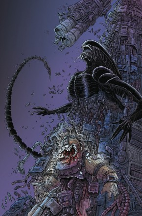 ALIENS DEAD ORBIT #4