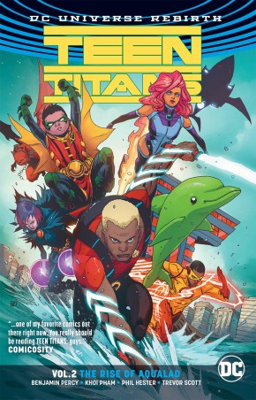 TEEN TITANS VOLUME 2 THE RISE OF AQUALAD GRAPHIC NOVEL