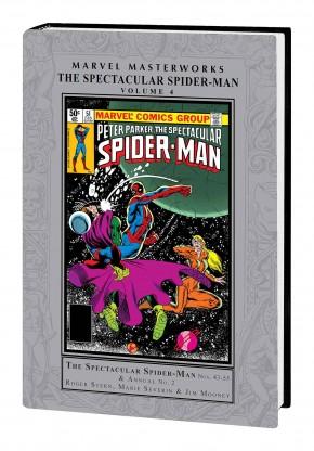 MARVEL MASTERWORKS SPECTACULAR SPIDER-MAN VOLUME 4 HARDCOVER