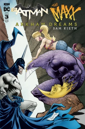 BATMAN THE MAXX ARKHAM DREAMS #3