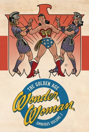WONDER WOMAN THE GOLDEN AGE OMNIBUS VOLUME 2 HARDCOVER