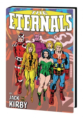 ETERNALS BY JACK KIRBY MONSTER-SIZE HARDCOVER