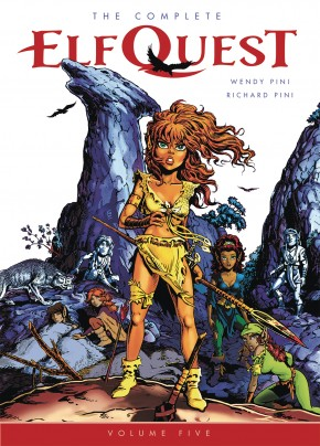 THE COMPLETE ELFQUEST VOLUME 5 GRAPHIC NOVEL