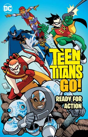 TEEN TITANS GO READY FOR ACTION GRAPHIC NOVEL