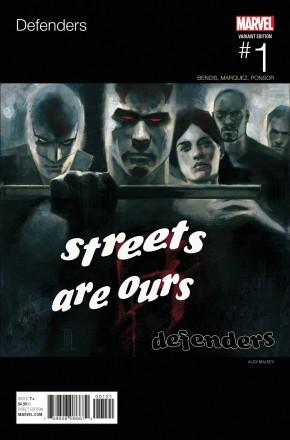 DEFENDERS #1 MALEEV HIP HOP VARIANT COVER
