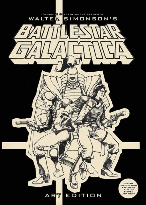 WALTER SIMONSON BATTLESTAR GALACTICA ARTIST EDITION HARDCOVER SIGNED AND REMARKED