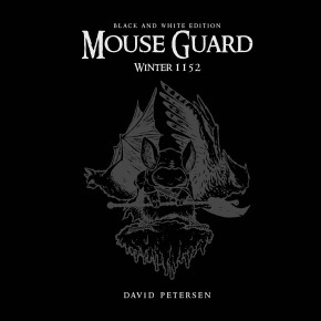 MOUSE GUARD WINTER 1152 BLACK AND WHITE LIMITED EDITION HARDCOVER