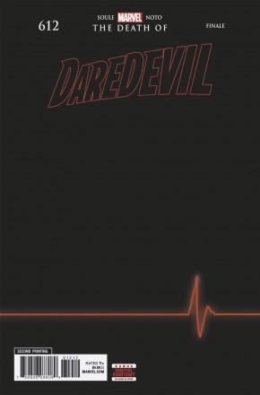 DAREDEVIL #612 (2015 SERIES) 2ND PRINTING