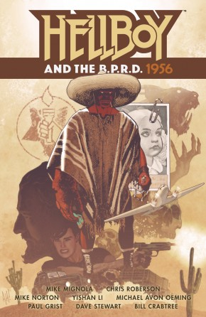 HELLBOY AND THE BPRD 1956 GRAPHIC NOVEL