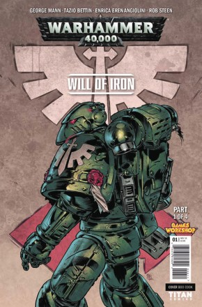 WARHAMMER 40000 WILL OF IRON #1 (COVER D)