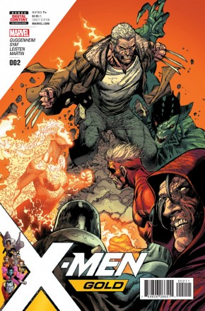 X-MEN GOLD #2 (1st PRINT)