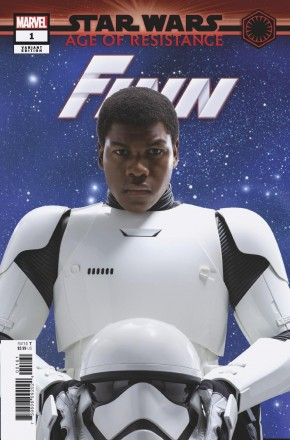 STAR WARS AGE OF RESISTANCE FINN #1 MOVIE 1 IN 10 INCENTIVE VARIANT