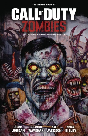 CALL OF DUTY ZOMBIES GRAPHIC NOVEL