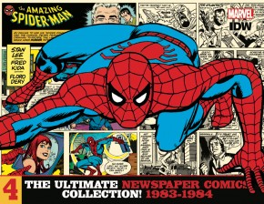 AMAZING SPIDER-MAN ULTIMATE NEWSPAPER COMICS COLLECTION VOLUME 4 1983-1984 HARDCOVER