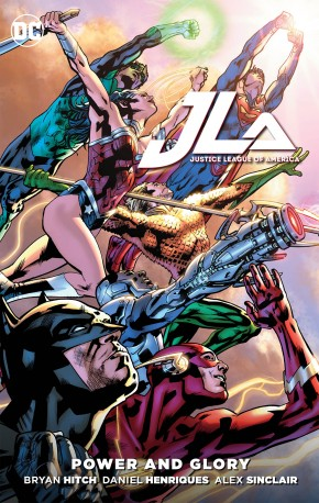 JUSTICE LEAGUE POWER AND GLORY GRAPHIC NOVEL