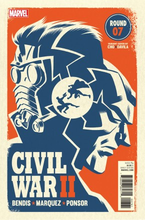 CIVIL WAR II #7 MICHAEL CHO VARIANT COVER
