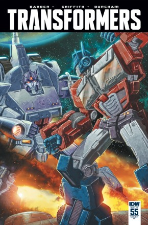 TRANSFORMERS #55 1 IN 10 INCENTIVE VARIANT COVER