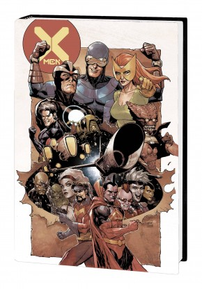 X-MEN BY HICKMAN OMNIBUS HARDCOVER YU COVER