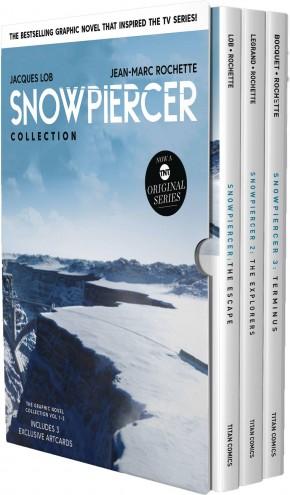 SNOWPIERCER VOLUMES 1-3 HARDCOVER BOX SET