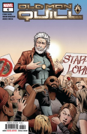 OLD MAN QUILL #6
