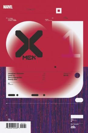 X-MEN #1 MULLER DESIGN 1 IN 10 INCENTIVE VARIANT