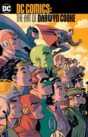 DC COMICS THE ART OF DARWYN COOKE GRAPHIC NOVEL